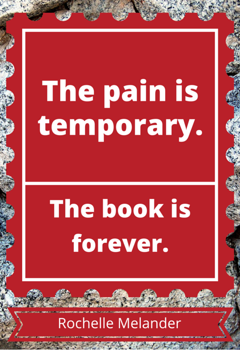 pain and book