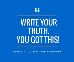 You Got This! Write Now!