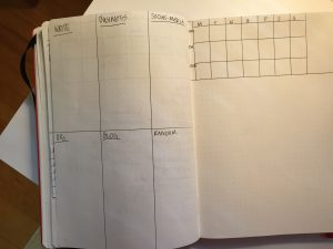 RYM Bullet Journal; Blank Spread