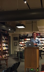 Author Jessica Hagy at Boswell Book Company