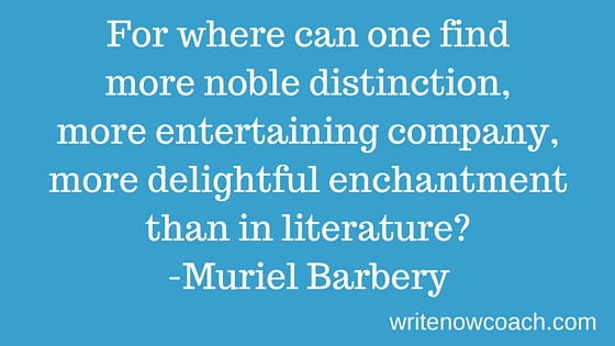 For where can one find more noble distinction, more entertaining company, more delightful enchantment than in literature?-2