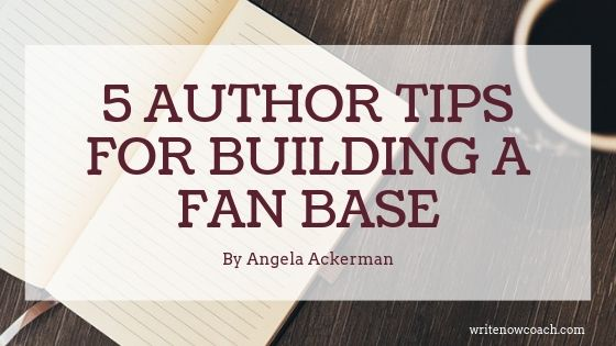 5 Author Tips for Building a Fan Base