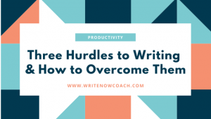 Writing Hurdles