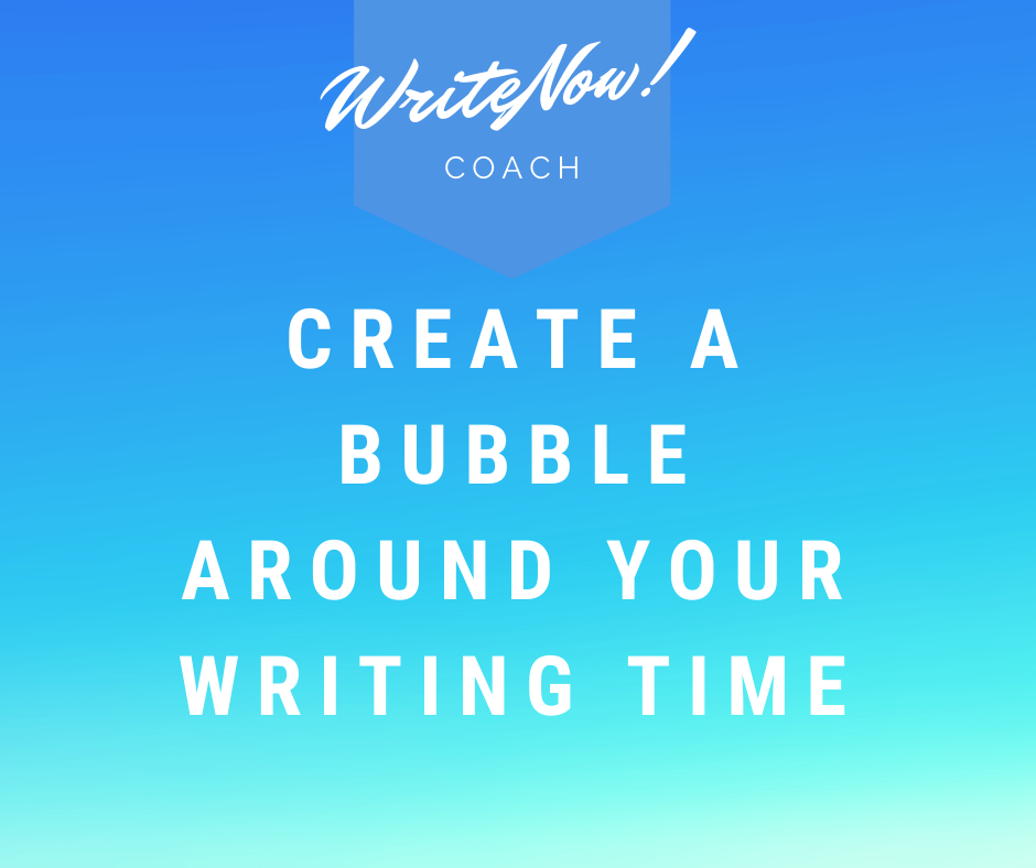 writing bubble