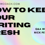 keep writing fresh